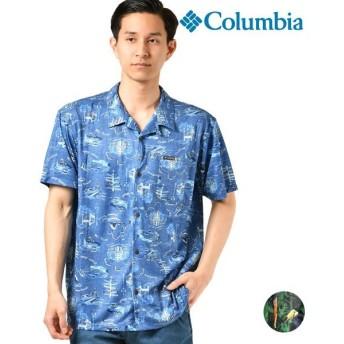 SALE セール メンズ 半袖 シャツ Columbia コロンビア PM6910 Polar Pioneer Short Sleeve Shirt ポーラーパイオニアショートスリーブシャツ GG1 D10