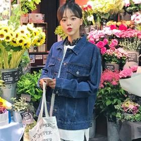 デニムジャケット - ONNY SHOP 【MERONGSHOP メロンショップ】ベーシックデニムジャケット[MADE.M] P000BODU 韓国 ファッション韓国ファッション レディース