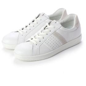 エコー ECCO SOFT 1 W Shoe (WHITE/SHADOW WHITE)