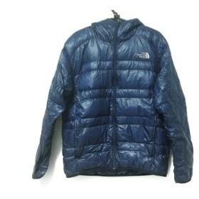 【中古】 ノースフェイス ダウンジャケット メンズ ライトヒートフーディー ND18171 ブルー