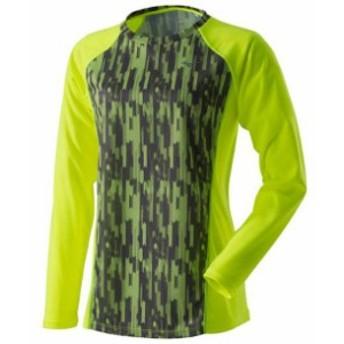 ランニングTシャツ(長袖)[レディース]【MIZUNO】ミズノランニング ウエア ランニングシャツ(J2MA7711)