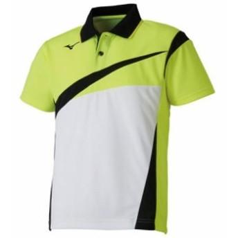 ゲームシャツ(ラケットスポーツ)(ジュニア)【MIZUNO】ミズノテニス ウエア ゲームウエア(62JA8005)