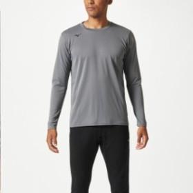 ブレスサーモシャツ(クルーネック)【MIZUNO】ミズノトレーニングウエア ミズノトレーニング Tシャツ/ポロシャツ(32MA8643)