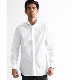 タケオキクチ ◆120/2ブロードウィングカラーシャツ メンズ ホワイト(001) 04(LL) 【TAKEO KIKUCHI】