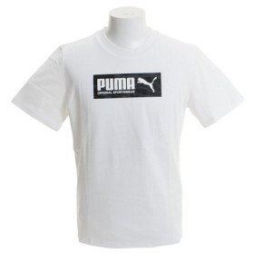プーマ(PUMA) 【ゼビオグループ限定】 グラフィック 半袖Tシャツ 845075 02 WHT (Men's)