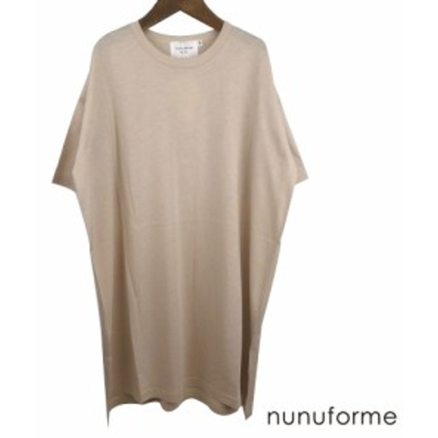 nunuforme (ヌヌ) ビッグロングT(115-145)  半袖Tシャツ   お揃い