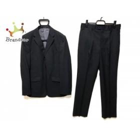 ニコルクラブ NICOLE CLUB シングルスーツ サイズ48 XL メンズ 黒 ストライプ   スペシャル特価 20190719