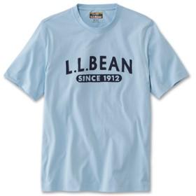 ジャパン・フィット メンズ・グラフィック・ケアフリー・アンシュリンカブル・ティ、半袖 エル・エル・ビーン 1912/Japan Fit Men's Graphic Carefree Unshrinkable tee Short-Sleeve L.L.Bean 1912