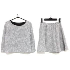 【中古】 ジュエルチェンジズ Jewel Changes スカートセットアップ レディース 白 ネイビー