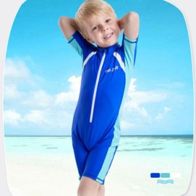 b94a1863454 水着 キッズ セット 男の子 つなぎ 水泳キャップ 子供用 スイミング 男児 スイムウエア ビーチウエア 練習用