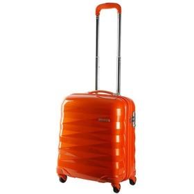 TSAロック搭載スーツケース Crystalite(32L) R8776001 オレンジ