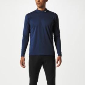 ブレスサーモシャツ(ハイネック) ユニセックス【MIZUNO】ミズノトレーニングウエア ミズノトレーニング Tシャツ/ポロシャツ(32MA8642)