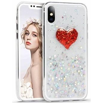 iPhone X ケース Imikoko iPhoneXケース キラキラ TPU 耐衝撃 薄型 おしゃれ 人気 かわいい アイフォンXカバー (iPh