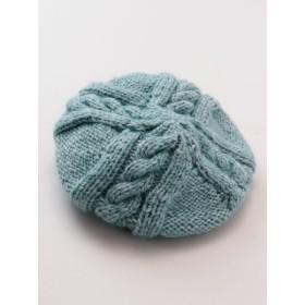 帽子全般 - チャイハネ 【チャイハネ】ハンドニット変わり編みベレー帽