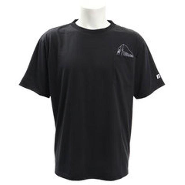 【Super Sports XEBIO & mall店:トップス】DFCポケット半袖Tシャツ 863D9FT9355BLK