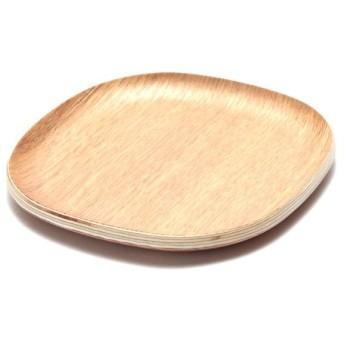 木製コースター(角型) ナチュラル ホームコーディ 角型 漆器・木製食器