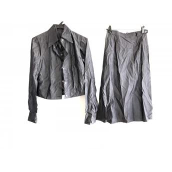 【中古】 ソフィードール SOFIE D'HOORE スカートスーツ サイズ36 S レディース グレー 3点セット