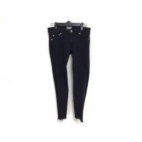 【中古】 アングリッド UNGRID パンツ サイズ24 レディース 黒 グレー