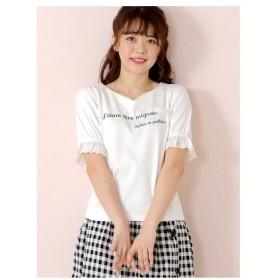 LODISPOTTO(ロディスポット)ドリーミンパフスリーブロゴTシャツ