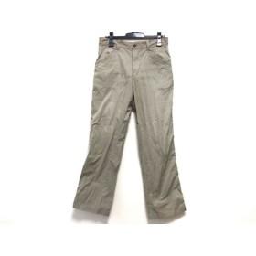 【中古】 アダバット Adabat パンツ サイズ48 XL メンズ ベージュ