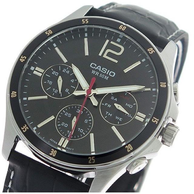 eae2dd4458 希少逆輸入モデル】 カシオ CASIO クオーツ メンズ 腕時計 MTP-1374L-1A ...
