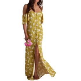ビラボン レディース ワンピース トップス Billabong x Sincerely Jules Shoulder Sway Dress - Women's Citrus