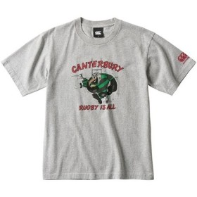 カンタベリー(canterbury) メンズ ラグビー ティーシャツ T-SHIRT ミディアムグレー RA39139 15 半袖 Tシャツ ティーシャツ スポーツウェア カジュアル