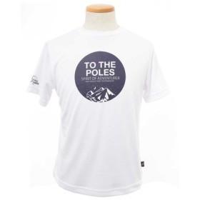 ポールワーズ(POLEWARDS) グラフィックプリントTシャツ 半袖Tシャツ PWB7S4089M WHT (Men's)