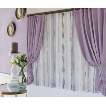 【送料無料】ボイルレースカーテン木綿調・リネン風・北欧風・デザイン・日本製幅100cm幅150cm