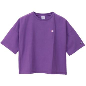 ウィメンズ リバースウィーブ Tシャツ 19SS【春夏新作】チャンピオン(CW-P312)【5400円以上購入で送料無料】