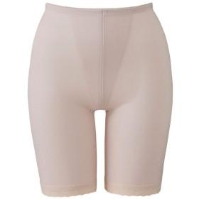 ウイング/ワコール レディース 綿混 肌ざわりがよく、吸汗性のある ソフト ガードル ロング丈