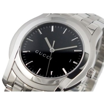 グッチ GUCCI Gクラス 腕時計 YA055211 ブラック