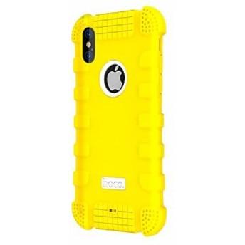 HOCO iPhone X ケース Pinhen iPhone 10 保護カバー 軽量 耐衝撃 滑り防止 防塵 指紋防止 柔らかいシリコン アイフォン