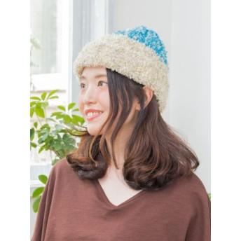 帽子全般 - チャイハネ 【チャイハネ】シャギーニットキャップ