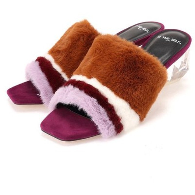 MYne self / FUR SANDAL