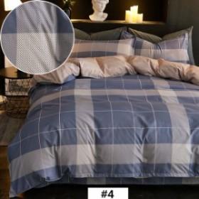 布団カバーセット シングル 3点セット 綿 布団用 掛布団カバー ベッドシーツ 枕カバー しわになりにくく 乾きが早い 送料無料