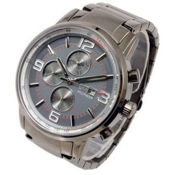 トミー ヒルフィガー TOMMY HILFIGER クオーツ メンズ 腕時計 1710339 グレー