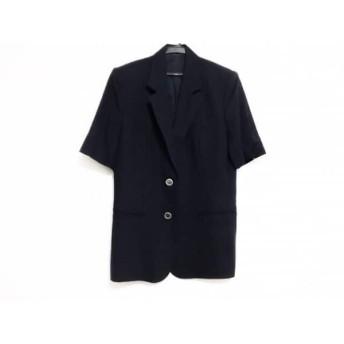 【中古】 バーバリーズ Burberry's ジャケット サイズ9 M レディース ネイビー 肩パッド