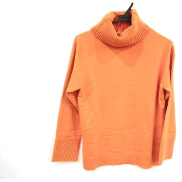 【中古】 マッキントッシュ MACKINTOSH 長袖セーター サイズ38 M レディース オレンジ タートルネック