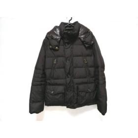 【中古】 ヘンリーコットンズ ダウンコート サイズ46 XL レディース ダークブラウン ブラウン 冬物