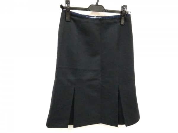 パープル レディース スカート 2009年 S miumiu (ミュウミュウ) MG266 サイズ38 【中古】