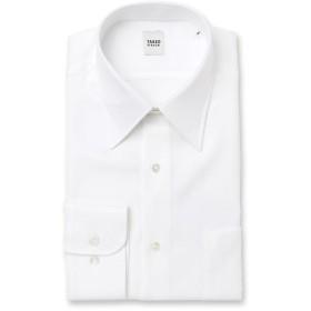 TAKEO KIKUCHI(タケオキクチ) 【 WEB限定 】ホワイト×ホワイト ドレスシャツ