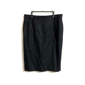 【中古】 ダックス DAKS ロングスカート サイズ69 レディース 黒