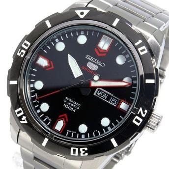 セイコー SEIKO 自動巻き メンズ 腕時計 SRP673J1 ブラック ブラック