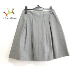セオリー theory スカート サイズ0 XS レディース 美品 グレー     スペシャル特価 20190731