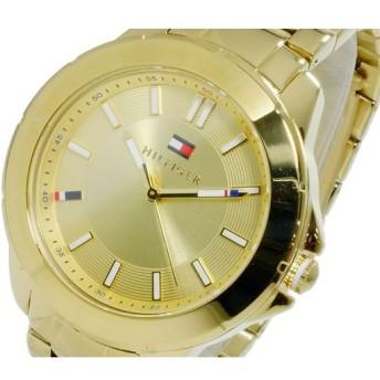 トミー ヒルフィガー TOMMY HILFIGER クオーツ レディース 腕時計 1781413 イエローゴールド
