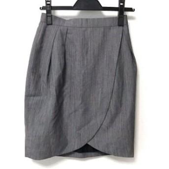【中古】 フォクシー FOXEY 巻きスカート サイズ40 M レディース ネイビー
