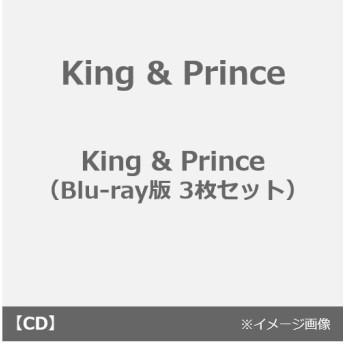 King & Prince/King & Prince((CD+Blu-ray)+(2CD)+(CD)3枚セット)(外付特典:フォトカード(A5サイズ)※Blu-ray付、DVD付共に同一デザイン+ステッ