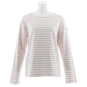 AIGLE DFT バスクボーダープルオーバー長袖Tシャツ ZTF001J-012 (Lady's)