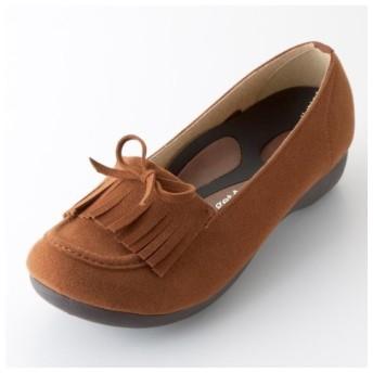 リゲッタスマイル モカシンシューズ(ゆったりワイズ) シューズ(フラットシューズ) Shoes